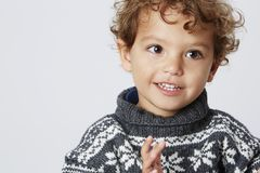 Portrait of a young boy Royalty Free Stock Photography