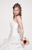 Portrait of the young bride Royalty Free Stock Photography