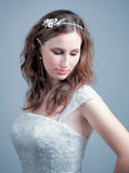 Portrait of young bride Royalty Free Stock Images