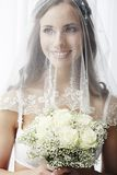 Portrait of a young bride Royalty Free Stock Photography