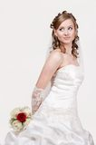 Portrait of the young bride Royalty Free Stock Photo