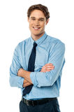 Portrait of young business executive Royalty Free Stock Photo
