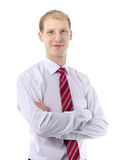 Portrait of young business man Royalty Free Stock Photography
