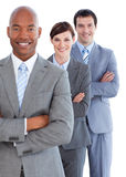 Portrait of young business team Royalty Free Stock Photos