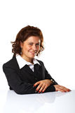 Portrait of a young business woman. Portrait of a successful young business woman Royalty Free Stock Photo