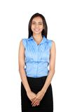 Portrait of a young business woman. Royalty Free Stock Photography