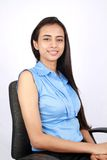 Portrait of a young business woman. Royalty Free Stock Photos