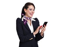 Portrait young business woman Royalty Free Stock Photography