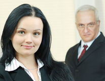 Portrait of young business woman Royalty Free Stock Photos