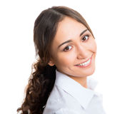 Portrait of young business woman Royalty Free Stock Photography