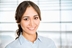 Portrait of young business woman Stock Image