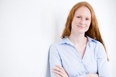Portrait of a Young Business Woman Stock Photo