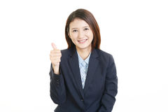 Portrait of a young business woman Stock Image