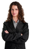 Businesswoman With Arms Crossed Stock Image