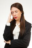 A portrait of a young business woman Stock Image