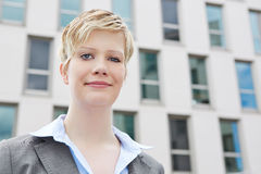 Portrait of a young business woman Royalty Free Stock Photos