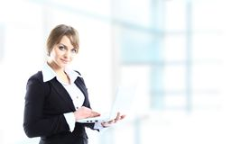 Portrait of a young business woman Royalty Free Stock Photography