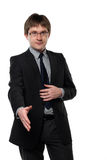 A portrait of the young businessman Stock Photography
