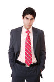 Portrait of a young businessman Stock Images