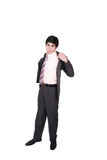 Portrait of a young businessman Royalty Free Stock Photos