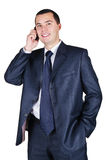 Portrait of the young businessman Royalty Free Stock Photos