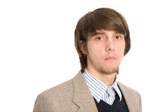 Portrait young businessman Royalty Free Stock Photos