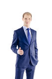 Portrait of a young businessman Royalty Free Stock Image