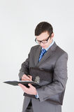 Portrait of young businessman Stock Image