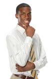 Portrait of Young Businessman Stock Photos