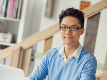 Portrait of young businessman Stock Photography