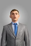 Portrait of a young businessman Royalty Free Stock Images