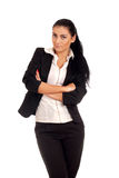 Portrait of young businesss woman Stock Photography