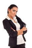Portrait of young businesss woman Royalty Free Stock Image