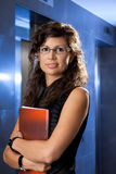 Portrait of young businesswoman Stock Photos