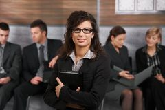 Portrait of young businesswoman Royalty Free Stock Photos