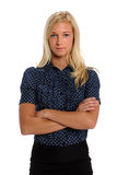 Portrait of Young Businesswoman Royalty Free Stock Photography