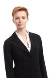 Portrait of young businesswoman Stock Images