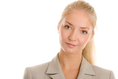 Portrait of young businesswoman Royalty Free Stock Images