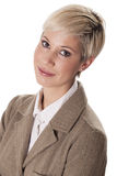 Portrait of young businesswoman. Royalty Free Stock Image