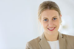 Portrait of young businesswoman Royalty Free Stock Image