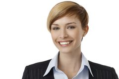 Portrait of young businesswoman Stock Photography