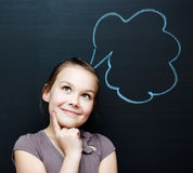 Portrait of young businesswoman in office royalty free stock photo