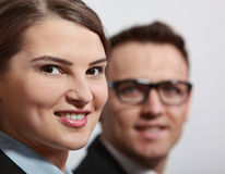Portrait of a Young Businesswoman Royalty Free Stock Image