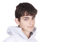 Portrait of young caucasian Royalty Free Stock Photo