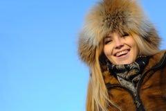 Portrait of young caucasian woman Stock Photos