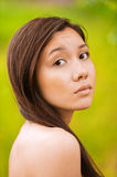 Portrait of young charming woman Stock Image