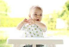 Portrait of a young child Stock Image