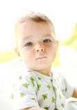 Portrait of a young child Royalty Free Stock Photography