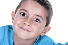 Portrait of young child Royalty Free Stock Photos