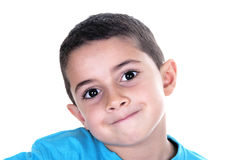 Portrait of young child Stock Images